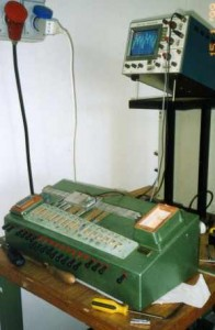 Laboratory test rig for reeds